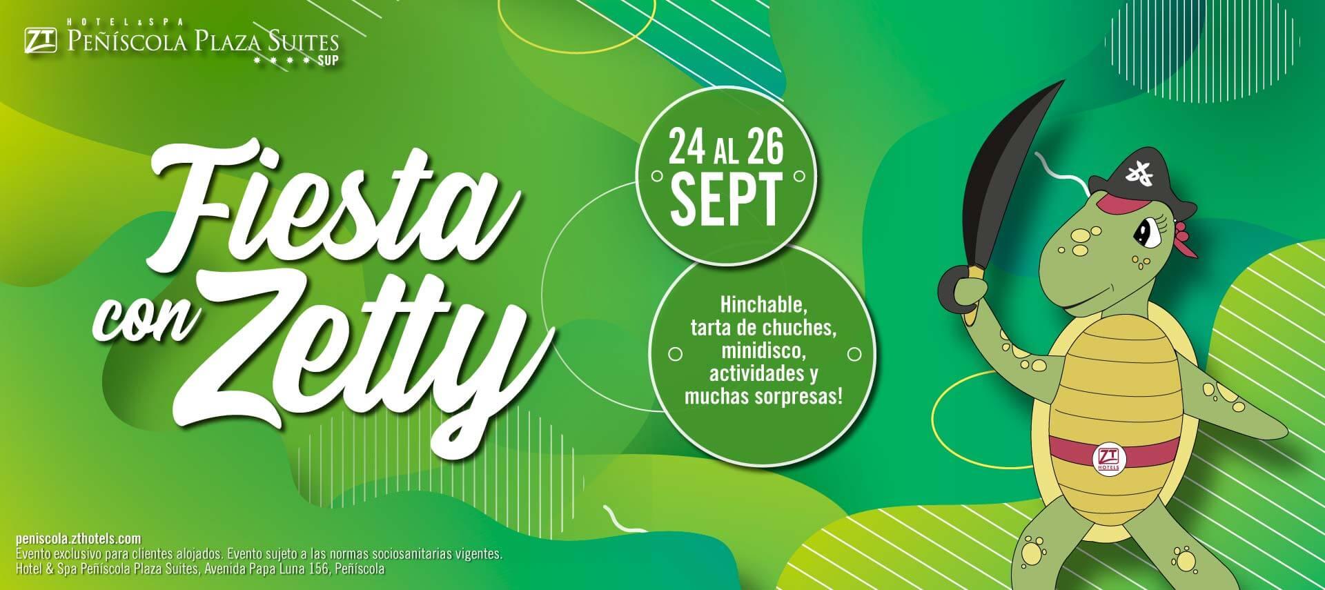Fiesta con Zetty en el Hotel & Spa Peñíscola Suites